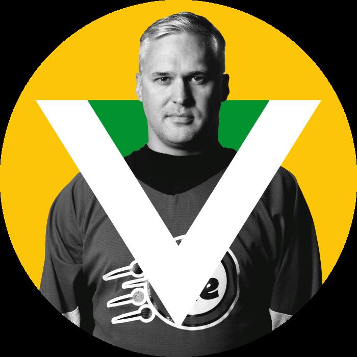 François Angers, joueurs des Verts de la VIE, ligue d'improvisation éclatée